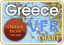 Greek Aviation Map